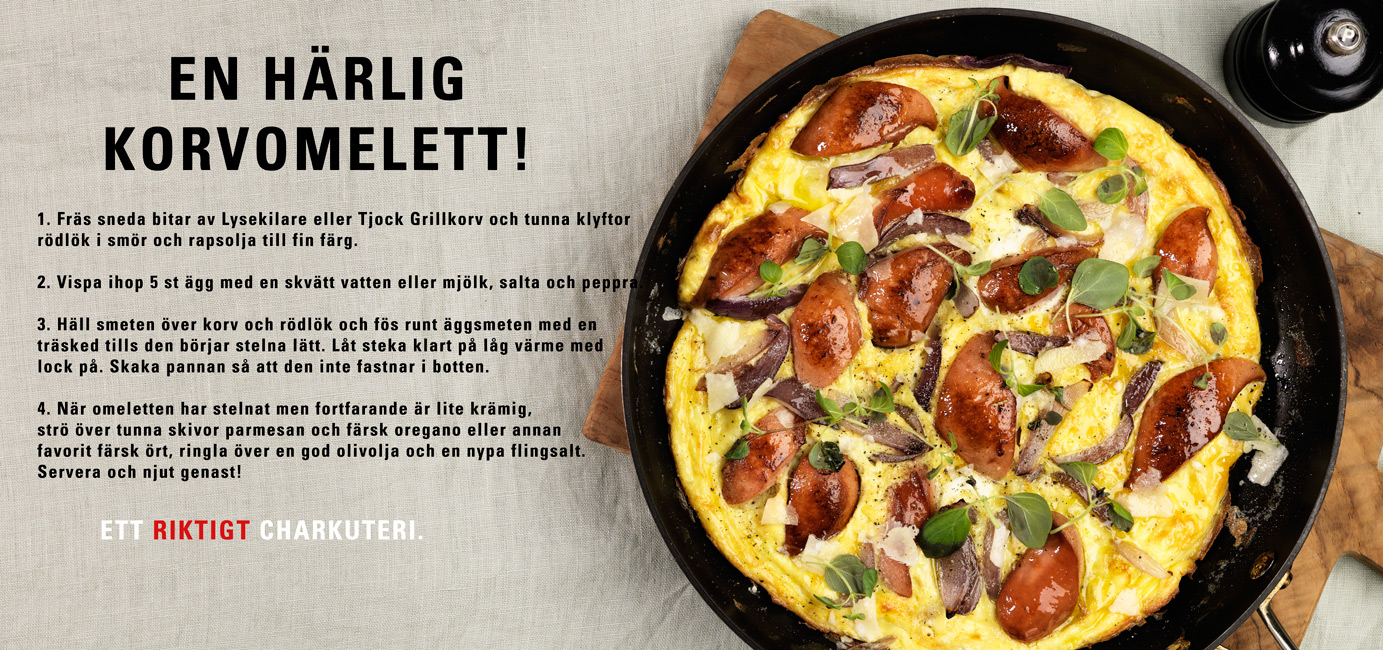 Omelett-recept
